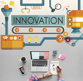 Innovation Ideas Imagine Processing System Concept Royalty Free Stock Images