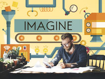 Innovation Ideas Imagine Processing System Concept Royalty Free Stock Photo
