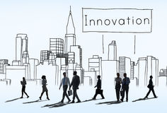 Innovation Innovate Invention Development Design Concept royalty free stock image