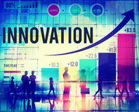 Innovation Inspiration Goals Ideas Mission Concept Stock Photo