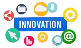 Innovation Invention Futurism Development Concept royalty free stock photos