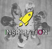 Innovation Launch Successful New Start Graphic Concept Royalty Free Stock Photography