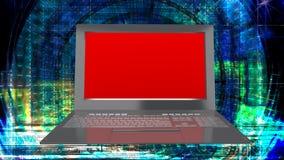 Innovation modern laptop for global Internet technology. High innovation modern laptop for global Internet technology Stock Photos