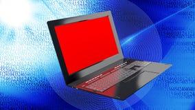 Innovation modern laptop for global Internet technology. High innovation modern laptop for global Internet technology Stock Image