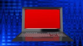 Innovation modern laptop for global Internet technology. High innovation modern laptop for global Internet technology Royalty Free Stock Photography
