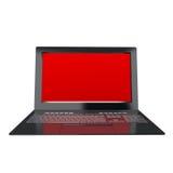 Innovation modern laptop for global Internet technology. High innovation modern laptop for global Internet technology Royalty Free Stock Photos