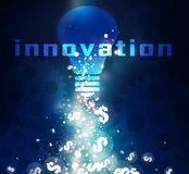 Innovation money Stock Images