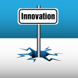 Innovation plate Stock Photo