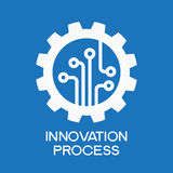 Innovation  process icon Royalty Free Stock Photography