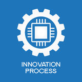 Innovation  process icon Stock Image
