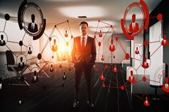 Innovation and recruiting concept Stock Images