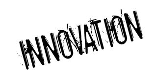 Innovation rubber stamp Royalty Free Stock Image
