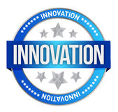 INNOVATION seal Royalty Free Stock Photos