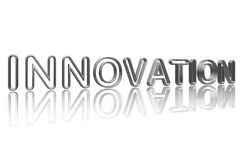 Innovation in silver Stock Image