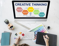 Innovation Strategy Creativity Brainstorming Concept Royalty Free Stock Photos