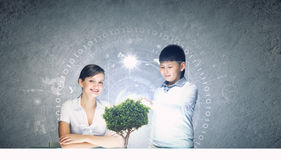 Innovation technologies in education Stock Image