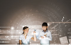 Innovation technologies in education Royalty Free Stock Photography