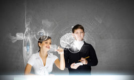 Innovation technologies in education Stock Photography