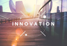 Innovation Technology Be Creative Futuristic Concept Stock Images