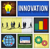Innovation Technology Development Creative Invention Concept Stock Photo