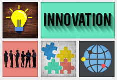 Innovation Technology Development Creative Invention Concept Stock Photography