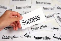 Innovation und Erfolg Stockfotografie