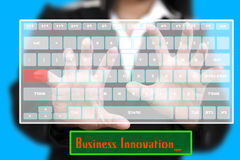 Innovation Virtual Keyboard Stock Photos