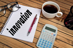 Innovation word Stock Photography