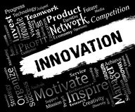 Innovation Words Represents Idea Transformation And Innovate Royalty Free Stock Images