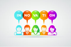 Innovationbegrepp Royaltyfri Bild
