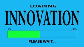 Innovationpäfyllning vektor illustrationer