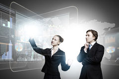 Innovations de technologie Photo libre de droits