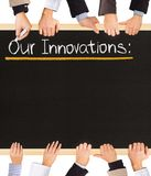 Innovations list Royalty Free Stock Image