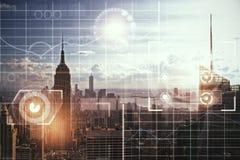 Innovations- und Finanzkonzept Lizenzfreie Stockfotografie