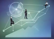 Innovations- und Teamwork-Konzept lizenzfreies stockfoto