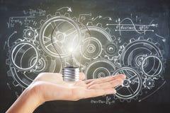 Innovations- und Technikkonzept Stockbilder