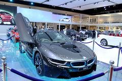 Innovationsauto BMW-Reihe I8 Stockfoto