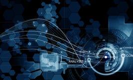 innovativa teknologier Royaltyfria Bilder