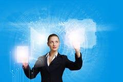 innovativa teknologier Royaltyfria Foton