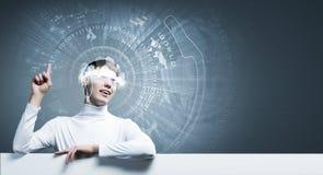 innovativa teknologier Royaltyfri Fotografi