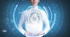 Innovativa teknologier i medicin Royaltyfria Bilder