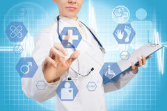 Innovativa teknologier i medicin Arkivbild