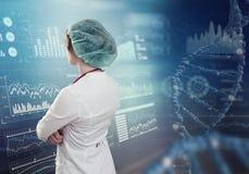 Innovativa teknologier i vetenskap och medicin Royaltyfri Bild