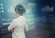 Innovativa teknologier i vetenskap och medicin Arkivfoton
