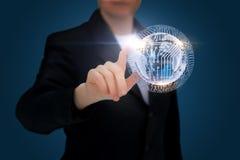 Innovative business technology. Stock Image