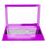 Innovative computer for global  business Stock Image