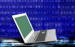 Innovative computer Internet technologies for business Stock Image