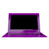 Innovative High Modern Computer Laptop. Royalty Free Stock Photography