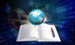 Innovative internet education Royalty Free Stock Photos