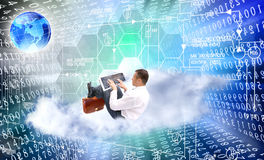 Innovative internet technology Royalty Free Stock Image